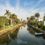 美國洛杉磯|威尼斯運河區(Venice Canals)|來搭個小船去鄰居家吧
